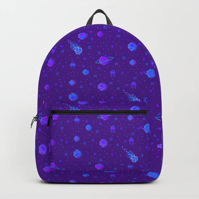 Pixelated Space Backpack