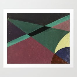 concentrate Art Print