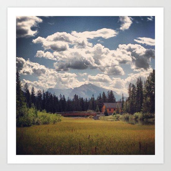 Mountain Watershed Art Print
