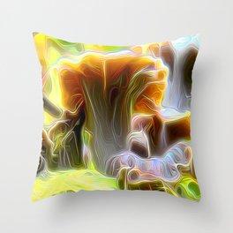 Pop Cornucopioides Throw Pillow