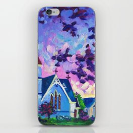 Anglican Catholic Church In Cambridge, New Zealand iPhone Skin