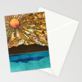Fractured Sky Stationery Cards