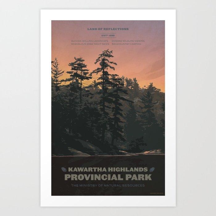 Kawartha Highlands Provincial Park Art Print