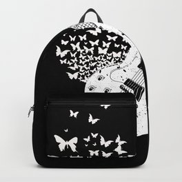 Butterfly Sound Guitar Gift Backpack