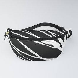 Black and White Cookie Blues Fanny Pack