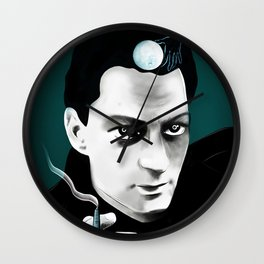 Paul Auster / Moon Palace Wall Clock