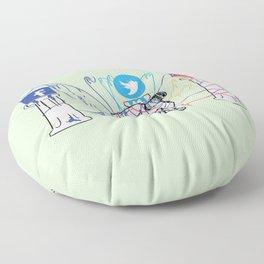 Idle Idols Floor Pillow