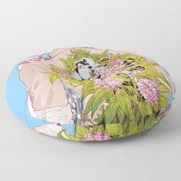 Strawberry Milk Floor Pillow