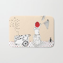 Catch more flies with honey... Bath Mat
