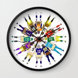 Football Butts Wall Clock