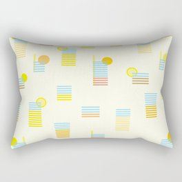Sunset drinks Rectangular Pillow