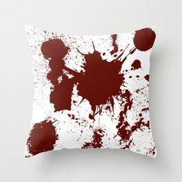 Bloodletting Throw Pillow