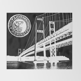 TACOMA Throw Blanket