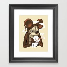 Mickey 3: Depression Framed Art Print