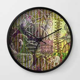A Strict Code for Mourning Flowers (2) Wall Clock