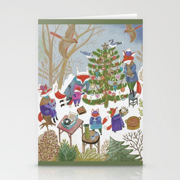 A Very Foxy Christmas Stationery Cards