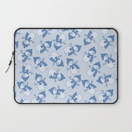C1.3 snowman pattern Laptop Sleeve