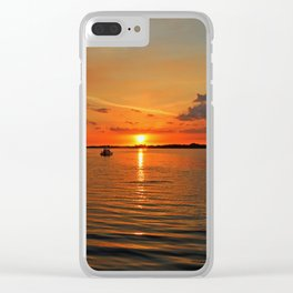 Grasping at Memories Clear iPhone Case