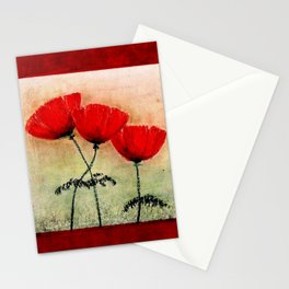 My Lovely Poppies Stationery Cards