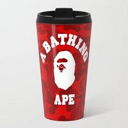 BAPE COLLEGE CAMO Travel Mug