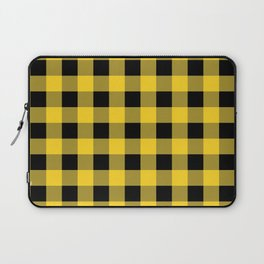 Yellow Buffalo Check Laptop Sleeve
