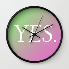 Yes. Wall Clock