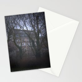 Old Factory Building Stationery Cards