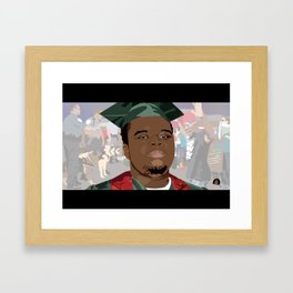 Hands Up, Don't Shoot Framed Art Print
