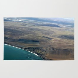 Iceland From Air Rug