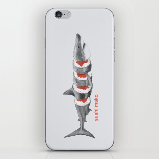Sushi Mako iPhone & iPod Skin