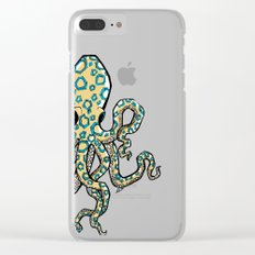 Blue Ringed Octopus Clear iPhone Case