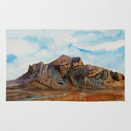 The Superstition Mountains Rug