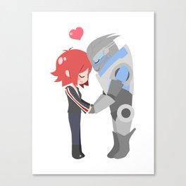 Mass Effect - Shakarian Canvas Print