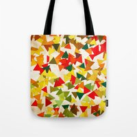 lights Tote Bags featuring Lights by SensualPatterns