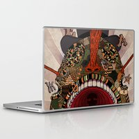 swallow Laptop & iPad Skins featuring swallow frogs by zansky