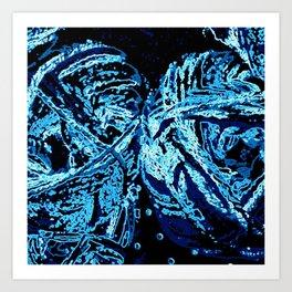 Tangled Up In Love Art Print