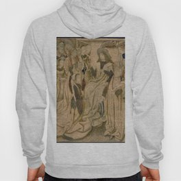 Brussels Manufactory - Tapestry with Esther presented to Ahasuerus (1490 - 1510) Hoody
