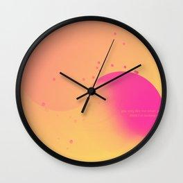 Day 0257 /// Oh I I I Wall Clock