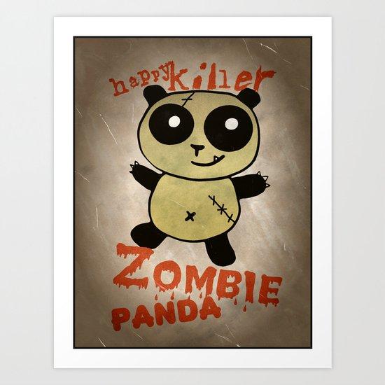 ZombiePanda Art Print