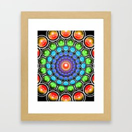 Interdimensional Shift II: Pattern Change Framed Art Print