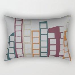 Cityscape 3 Rectangular Pillow