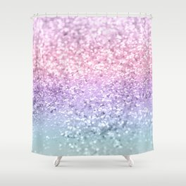 Unicorn Girls Glitter #1 #shiny #pastel #decor #art #society6 Shower Curtain