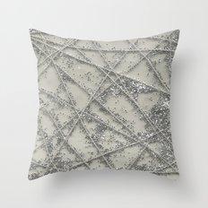 Sparkle Net Throw Pillow