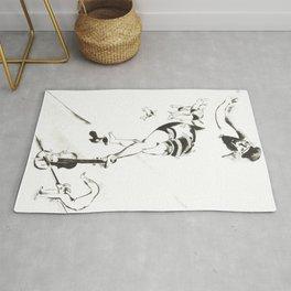 Marc Chagall, Acrobat with Violin 1924 Artwork, Posters Tshirts Prints Bags Men Women Kids Rug