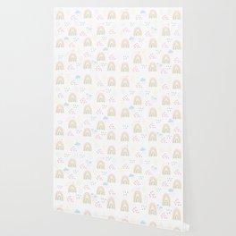 Rainbow kid feelings Wallpaper