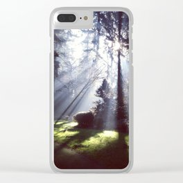 Sun Beams Clear iPhone Case