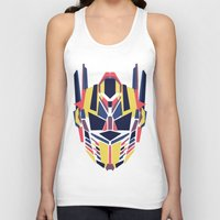 transformer Tank Tops featuring Prime by Fimbis