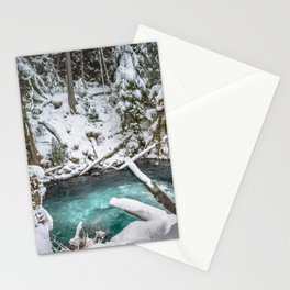 Adventure Awaits River - Pacific Northwest Nature Photography Stationery Cards