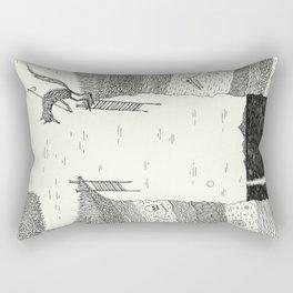 'Broken Bridge' Rectangular Pillow