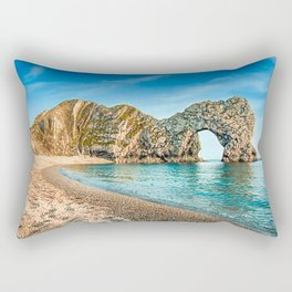 Durdle Doors Elephant Trunk Rectangular Pillow